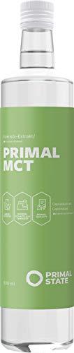 PRIMAL MCT Öl Glasflasche, 500ml
