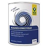 Raab Vitalfood Magnesium-Citrat Pulver 200 g, vegan, laborgeprüft, gut zu dosieren, ideal für...
