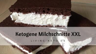 Keto-Milchschnitte XXL