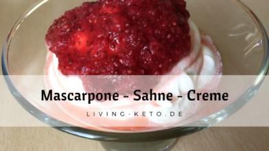 Mascarpone-Sahne-Creme