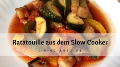 Ratatouille im Slow Cooker