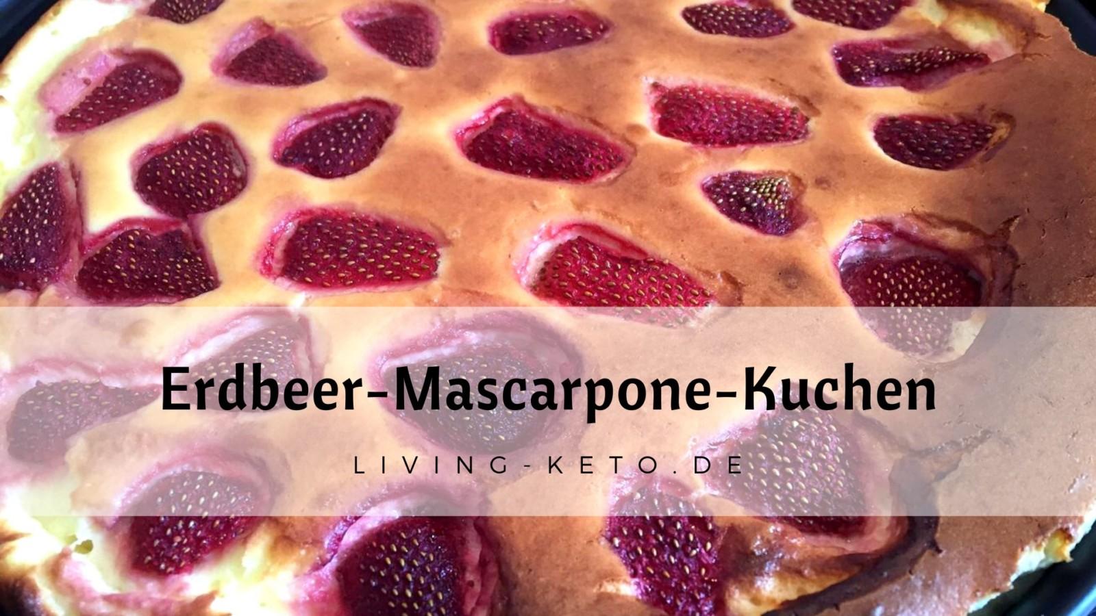 Erdbeer-Mascarpone-Kuchen