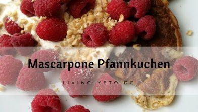Ketogene Mascarpone Pfannkuchen