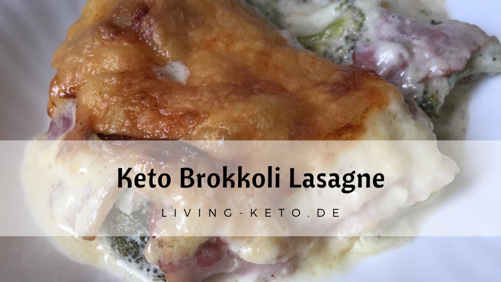 Brokkoli-Lasagne – ketogen und low carb