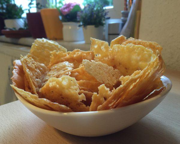 Käse-Chips - Perfektes Naschzeugs!