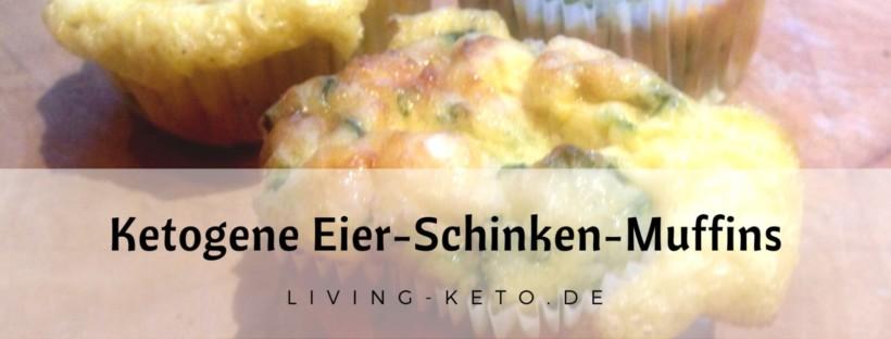 Ketogene Eier-Schinken-Muffins