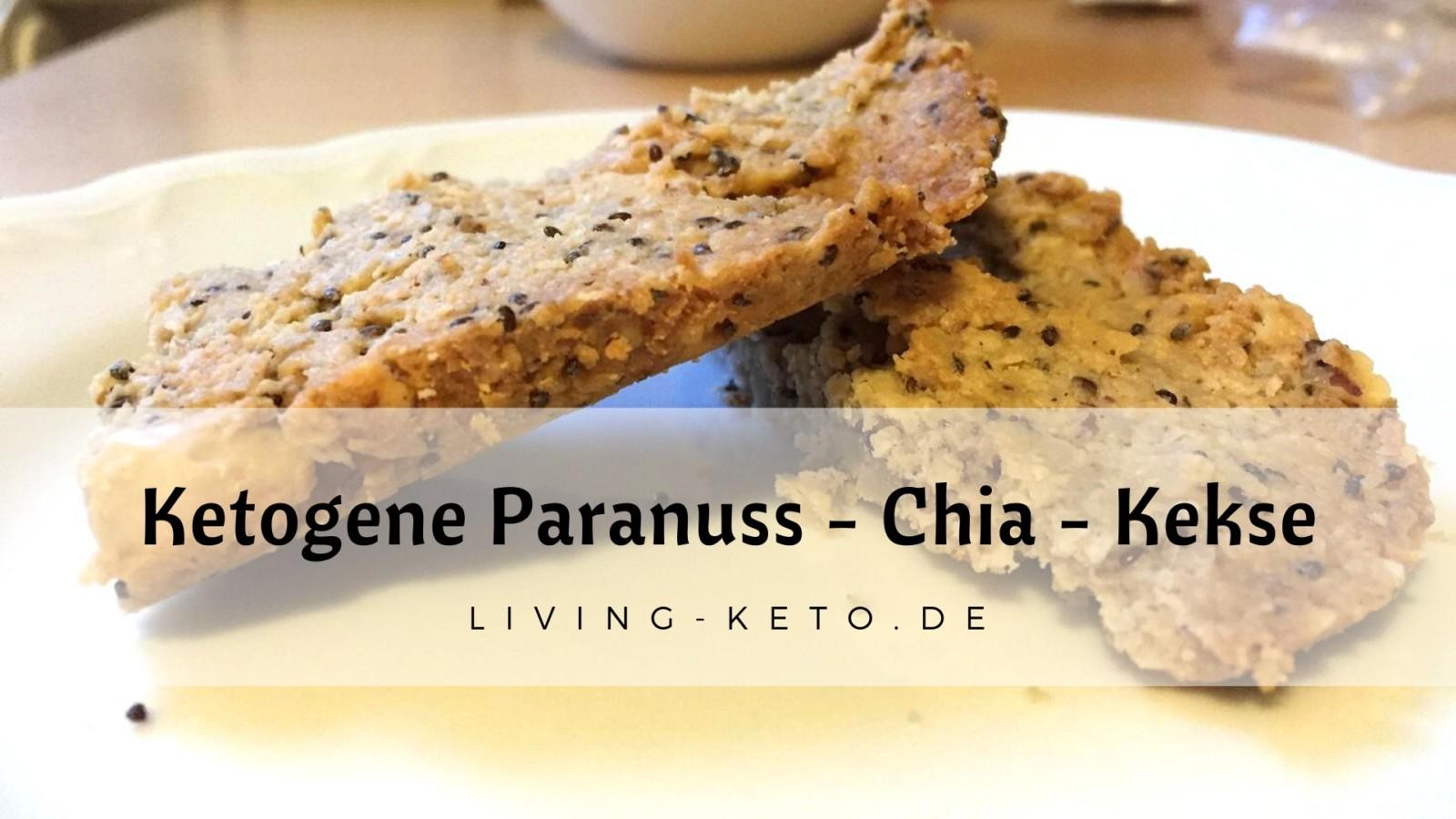 Ketogene Paranuss-Chia-Kekse