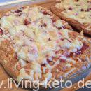 Keto – Pizzabrot