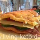 Oopsie Sandwich-Brötchen