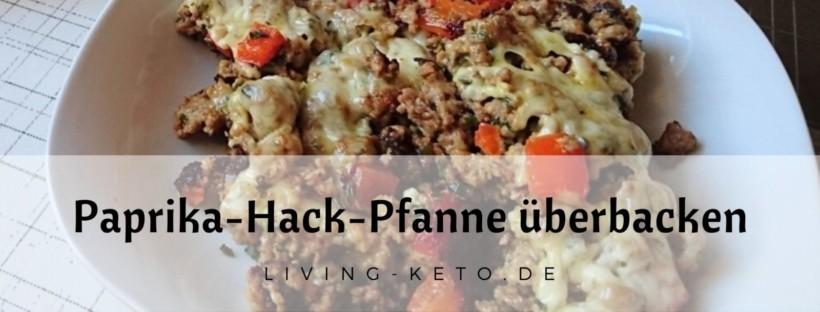 Paprika-Hack-Pfanne überbacken