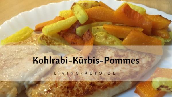 Kohlrabi Kürbis Pommes