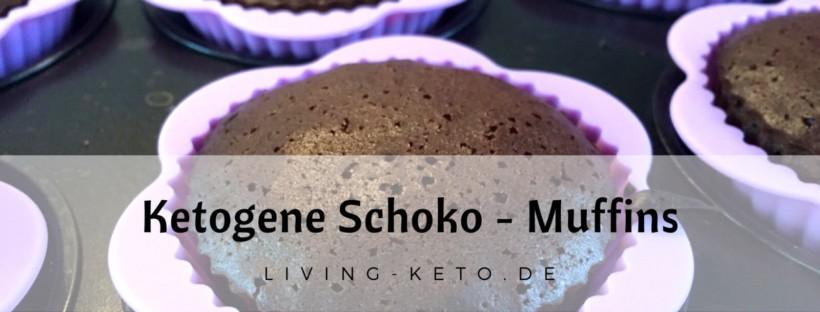 Ketogene Schoko Muffins
