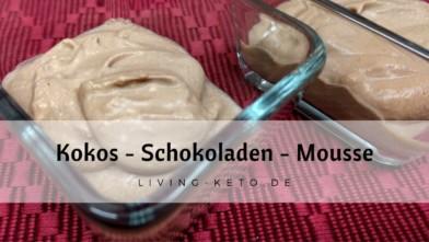 Kokos-Schokoladenmousse
