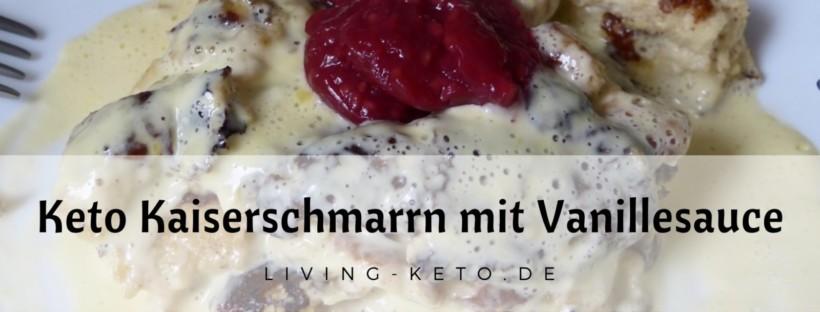 Kaiserschmarrn mit Vanillesauce ketogen
