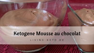 Ketogene Mousse au chocolat
