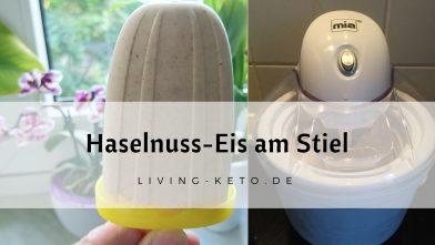 Ketogenes Haselnuss-Eis