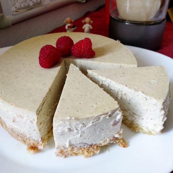 Zitronen-Vanille-Cheesecake