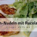 Rettich-Nudeln mit Rucola Pesto