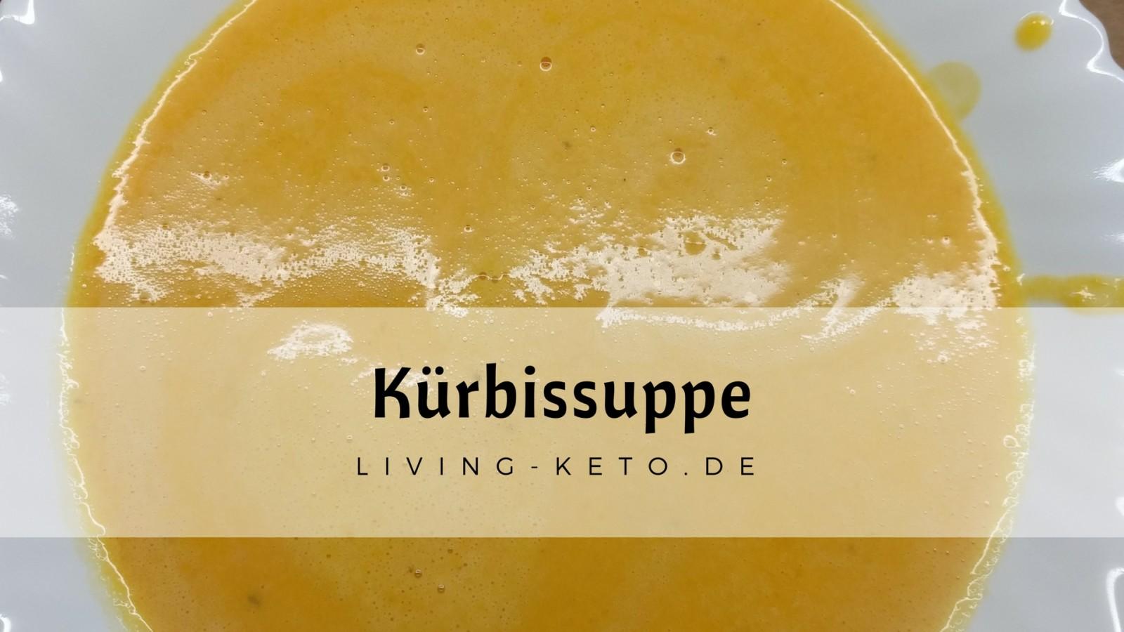 Keto Kürbis Suppe – mit Butternut