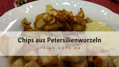 Chips aus Petersilienwurzeln
