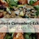 Panierte Camembert-Ecken