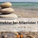 Atlaskorrektur bei Atlantotec Sachsen