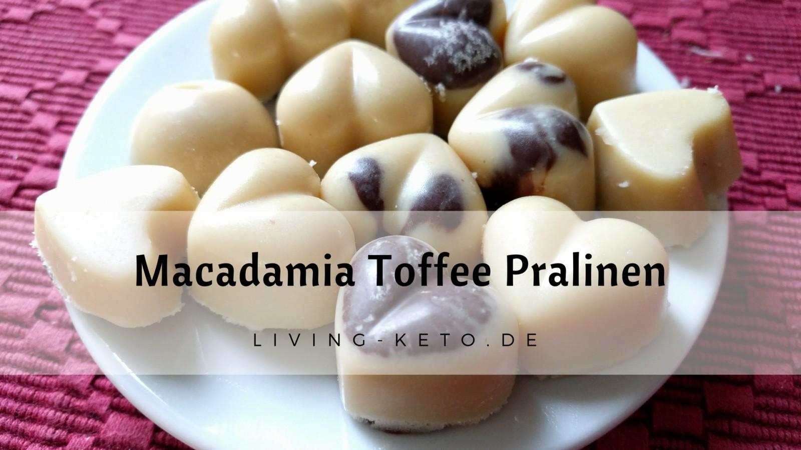 Macadamia Toffee Pralinen