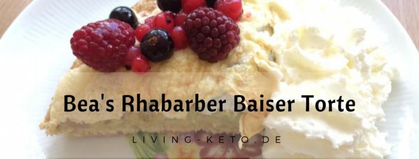Bea's Rhabarber Baiser Torte