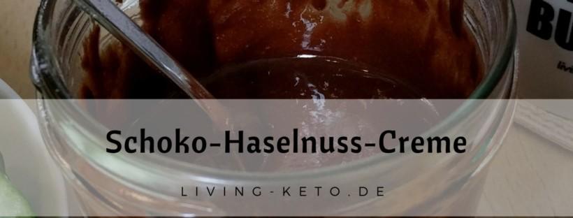 Rezept Schoko Haselnuss Creme
