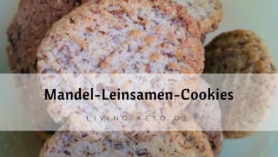 Ketogene Mandel-Leinsamen-Cookies