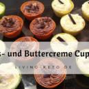 Kokos- und Buttercreme Cupcakes