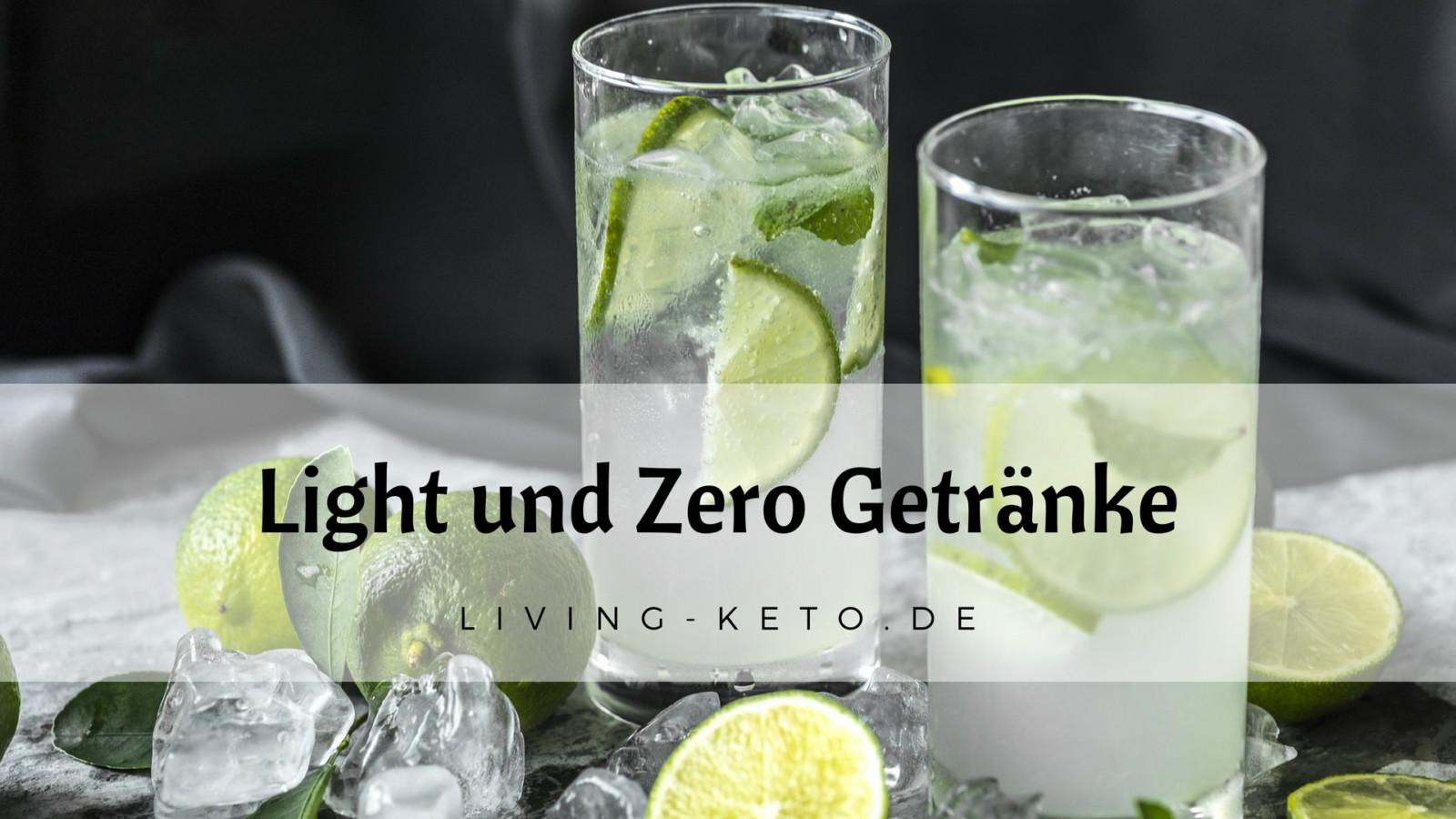 Light und Zero Getränke in der ketogenen Ernährung | Ketogen Leben