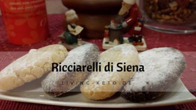 Ricciarelli di Siena – ketogene italienische Mandelkekse
