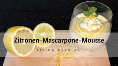 Luftige Zitronen-Mascarpone-Mousse