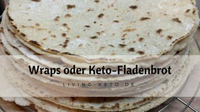 Wraps oder Keto-Fladenbrot