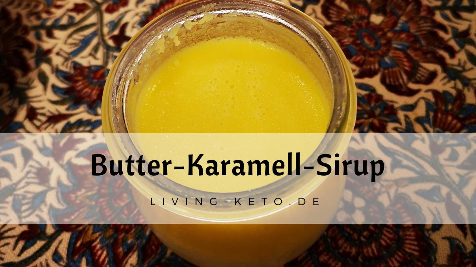 Butter-Karamell-Sirup
