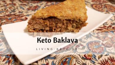 Keto Baklava – Low Carb und glutenfrei