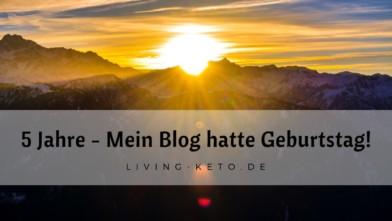 5 Jahre – Mein Blog hatte Geburtstag!